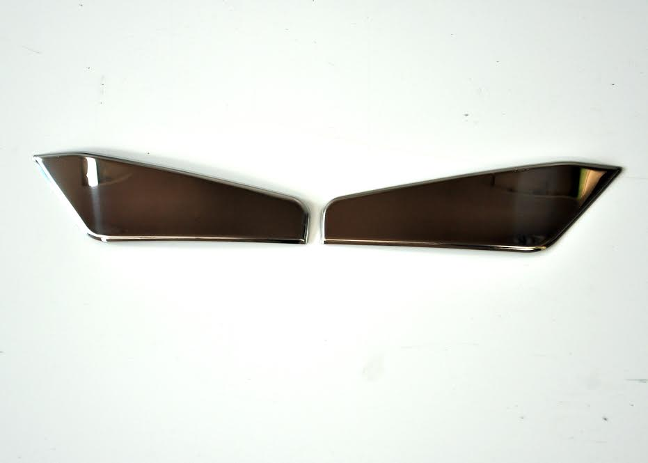 Front stainless steel dashboard Griffin for Scania R//P//L//G//T//S mirror polished decoration